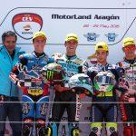 Ramírez, Odendaal y Morales se reparten las victorias en el FIM CEV Repsol