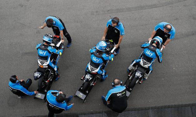 Última carrera antes del verano Sky Racing Team VR46 en Sachsenring