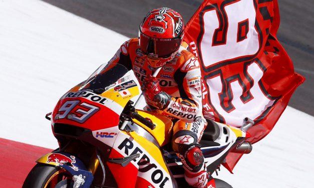 Márquez y Pedrosa salvan una difícil carrera en Austria