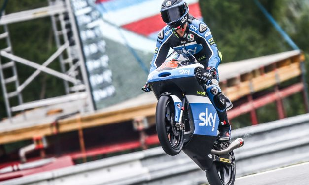 Top5 para el Sky Racing Team VR46 en Brno