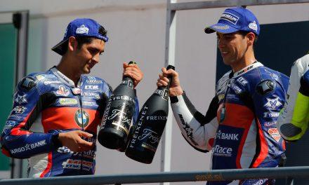 Doble presencia en el podio del Targobank EasyRace SBK Team en las dos carreras de Portimao
