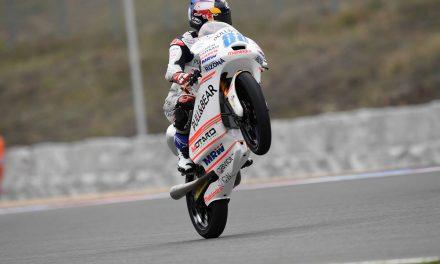 Jorge Martín acaricia la pole en Brno