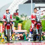 Doblete del Team HRC en la primera etapa del China Grand Rally