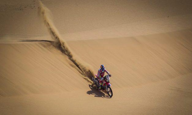 Las Honda de Barreda y Metge mandan en el desierto de Gobi