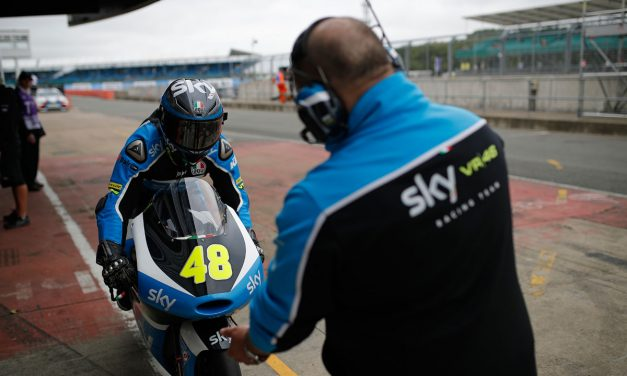 Buen comienzo para el Sky Racing Team VR46 en Silverstone