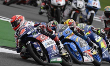 Fabio DI Giannantonio sexto en un sensacional regreso en Silverstone y Enea Bastianini octavo.