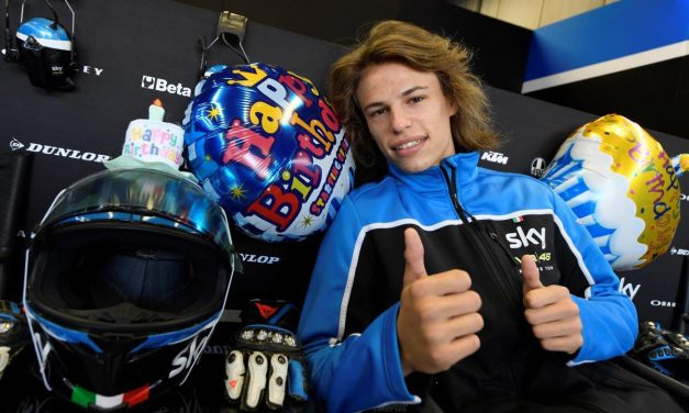 Segundo podio para Nicolò Bulega en Motegi