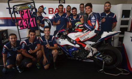 Excelente pole de Maxi Scheib en el Circuito de Jerez.