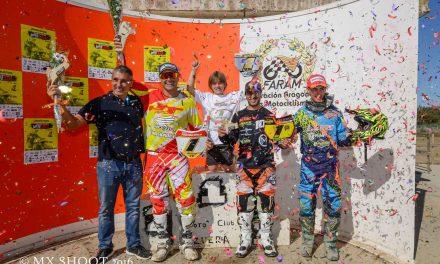Proclamados los campeones de MXSub18, MXMáster y MX65 2016