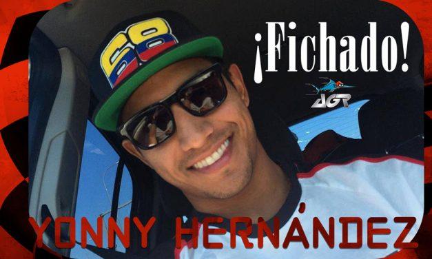 YONNY HERNÁNDEZ VUELVE A MOTO2 CON EL AGR