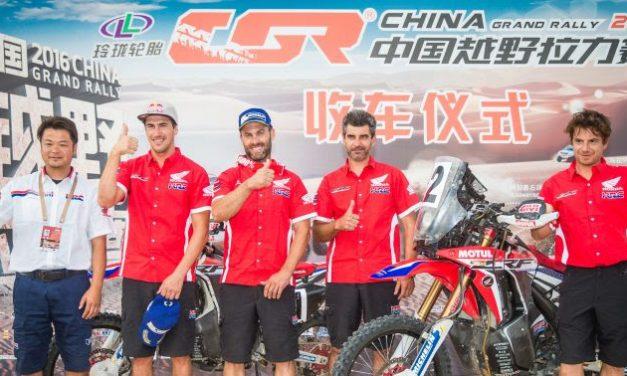 El Team HRC prepara el Dakar con un intenso mes de octubre