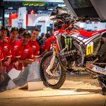 El nuevo Monster Energy Honda Team destaca en el Salón EICMA de Milán