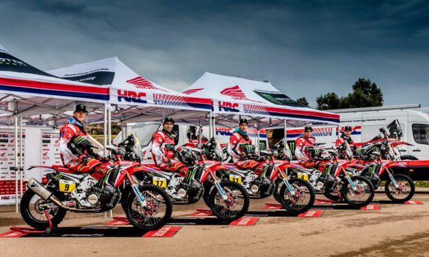 El Monster Energy Honda Team celebra su 'Dakar Day'