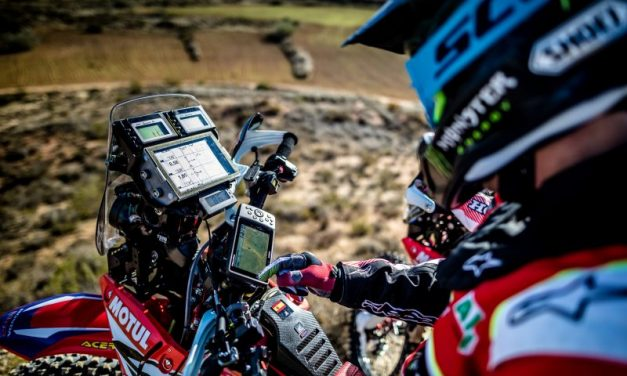El Monster Energy Honda Team, al Dakar con Garmin