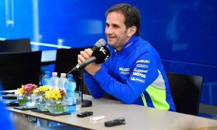 Davide Brivio evalúa las temporadas 2016 y 2017 de MotoGP ™ Suzuki Ecstar