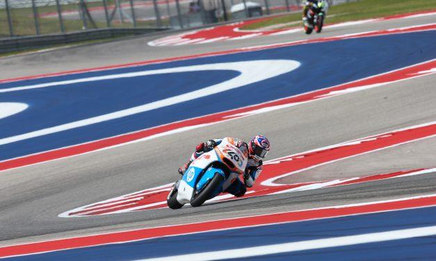 Fabio Quartararo rueda entre los más rápidos en el primer día del Gran Premio de las Américas