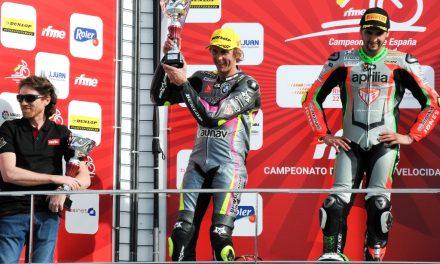 Primer podio del año para el Graphbikes easyRace SBK Team en Valencia