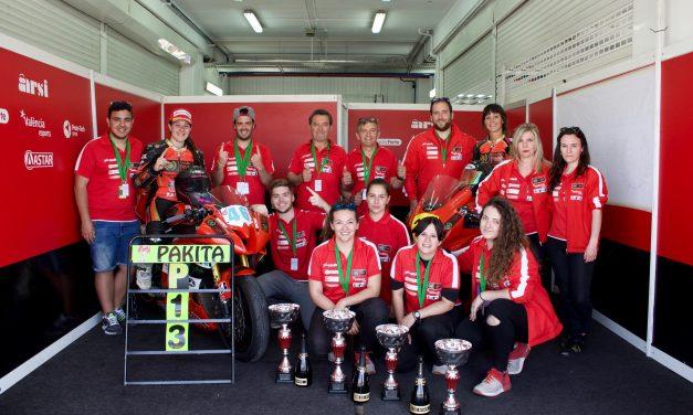 Doble victoria y doble podio para CHAMPI WOMEN RACING