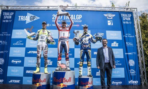 Toni Bou se lleva la victoria en un complicadísimo TrialGP de España