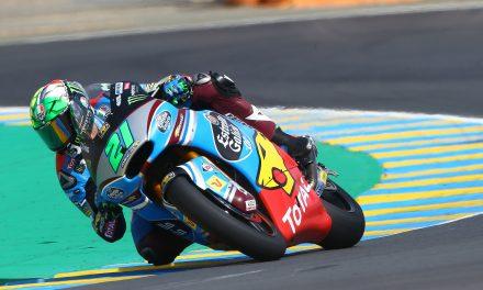 Nueva victoria para Franco Morbidelli  en Moto2 Le Mans