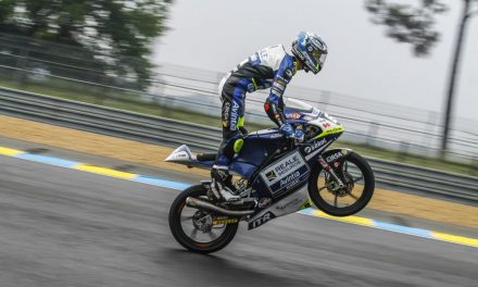 Fantástica sexta posición de Vicente Pérez en la cita de Le Mans