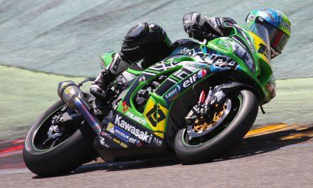 Iván Silva y el Kawasaki Palmeto PL Racing Team luchan por los puestos de honor en MotorLand Aragón