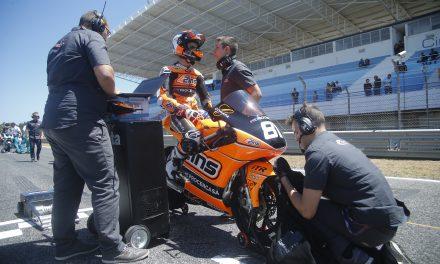 Aleix Viu termina de nuevo en el Top-10 en su debut en Estoril