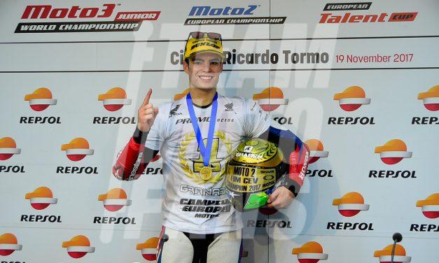 Victoria y título para Eric Granado en Valencia, FIM CEV Repsol Moto2™ European Championship