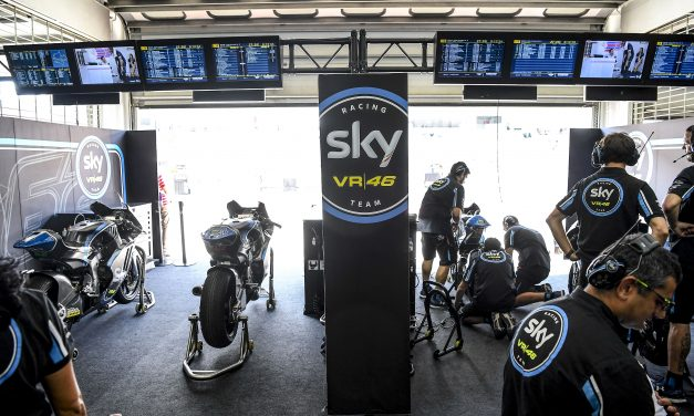 El Sky Racing Team VR46 a Valencia en su última carrera de la temporada