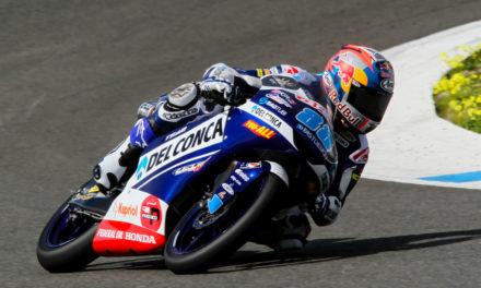 Lowes y Lecuona en Moto2 y Martín y Bastianini en Moto3 lideran los test de Jerez