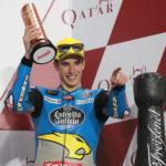 Márquez comienza subiendo el podio en Catar a pesar de los problemas
