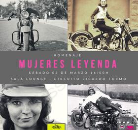 Homenaje Mujeres Leyenda del Motociclismo