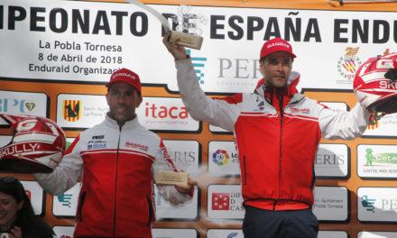 Doblete del GasGas Factory Team en el nacional de Enduro