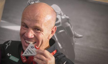 Randy Mamola se convierte en leyenda de MotoGP ™