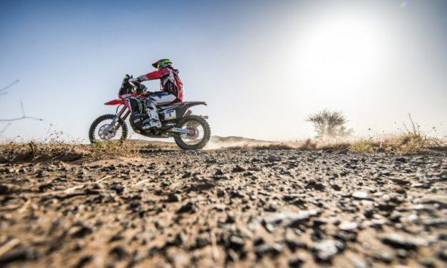 Gran victoria de Joan Barreda en la primera etapa del Merzouga Rally