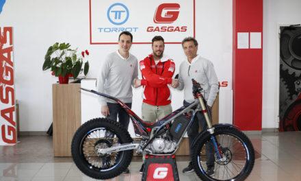 Loris Gubian competirá con la GasGas TXE en la TrialE Cup
