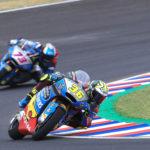 Márquez y Mir luchan contra los elementos en Argentina