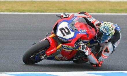 El Honda Team Althea Moriwaki inicia la prueba final de pretemporada en Phillip Island