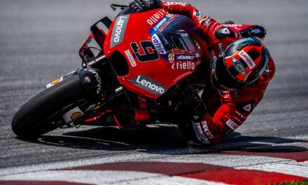 El equipo Mission Winnow Ducati cierra el test de MotoGP en Sepang con Petrucci primero (récord oficioso del circuito) y Dovizioso cuarto