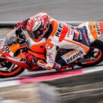 Marc Márquez vuelve a pilotar una moto dos meses después