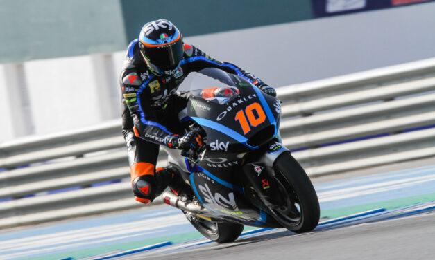 Test Jerez Moto2 y Moto3, Luca Marini pulveriza el récord en Moto2 y Toni Arbolino domina Moto3