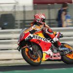 Marc Márquez bate el récord del circuito la primera jornada en Losail