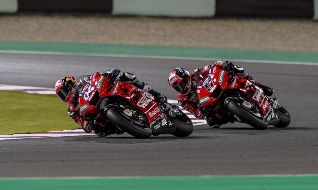 La espera ha terminado: el Mission Winnow Ducati ya está listo con Dovizioso y Petrucci