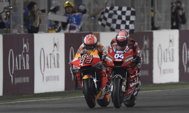El Tribunal de Apelación de MotoGP confirma la victoria de Dovizioso en Qatar