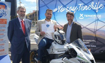Fran Alonso, embajador de Tenerife en el Campeonato de España Cetelem de Superbike.