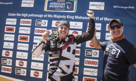 Margot Llobera finaliza un exigente Merzouga Rally y consigue su pasaporte para el Dakar 2020