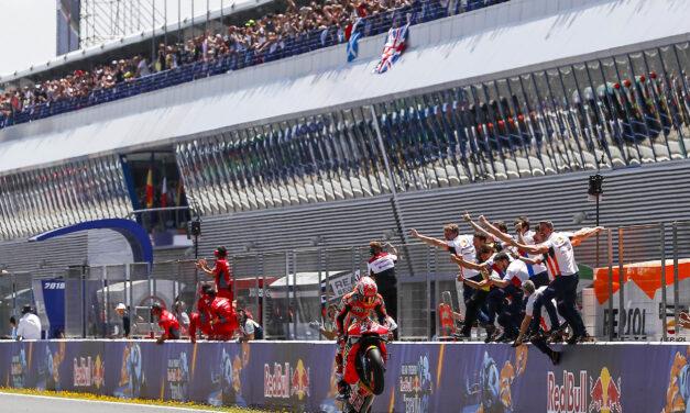 Marc Márquez llega líder al Gran Premio de Francia