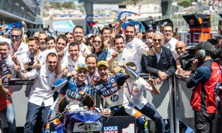 Magistral victoria de Lorenzo Baldassarri y magnífico podio de Augusto Fernández, tercero.