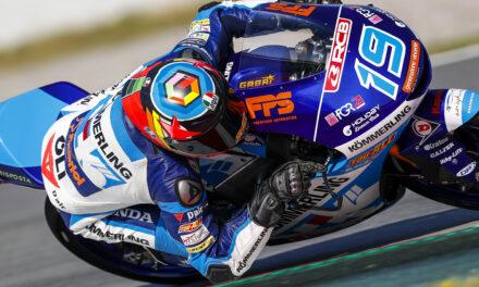 Gabri Rodrigo consigue la pole en Moto3 en Montmeló
