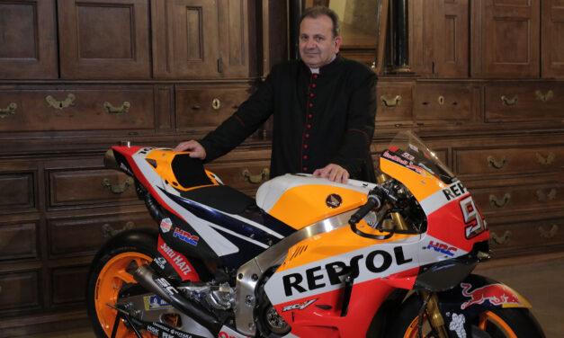 Una pasión divina por el Mundial de motociclismo